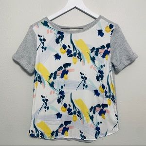 ❗️SALE {Anthropologie} Deletta Casual Floral Top